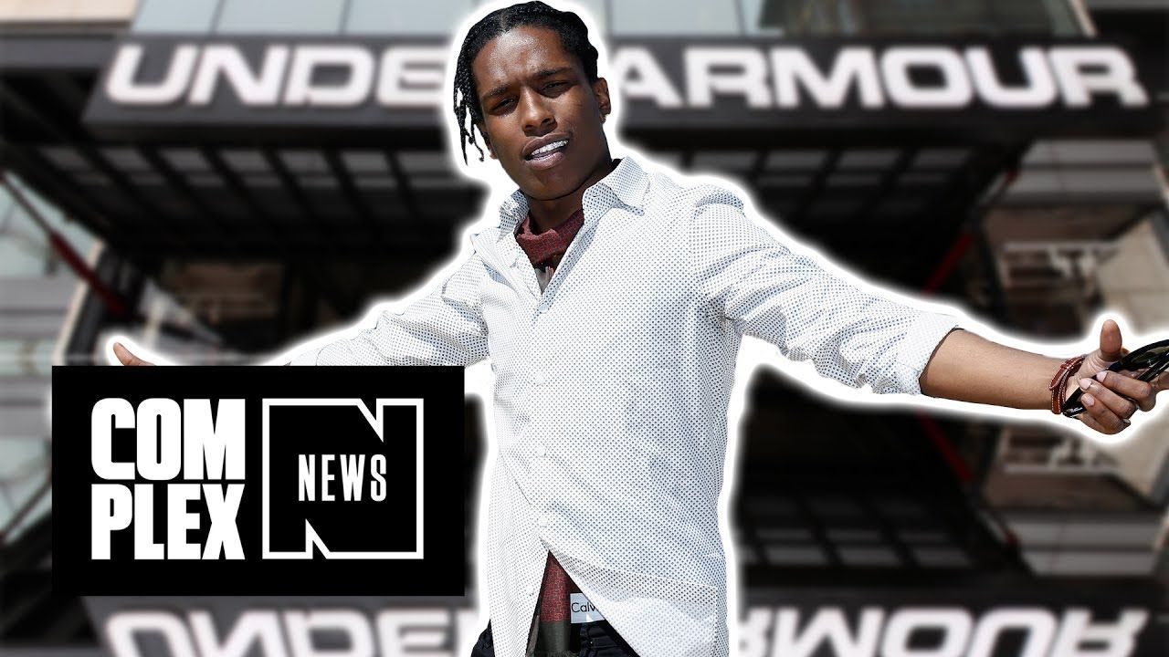 Can Asap Rocky Make Under Armour Cool Urban music, Under