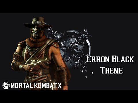 Mortal Kombat X - Erron Black: Gunslinger (Theme) - YouTube