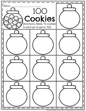 Counting to 100 Activities | Counting to 100, Kindergarten ...