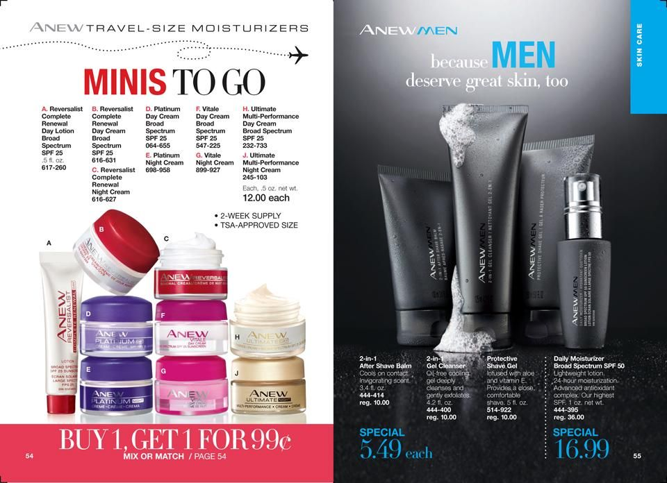 Online Brochure By Avon Top Skin Care Products Avon Skin Care Mens Skin Care