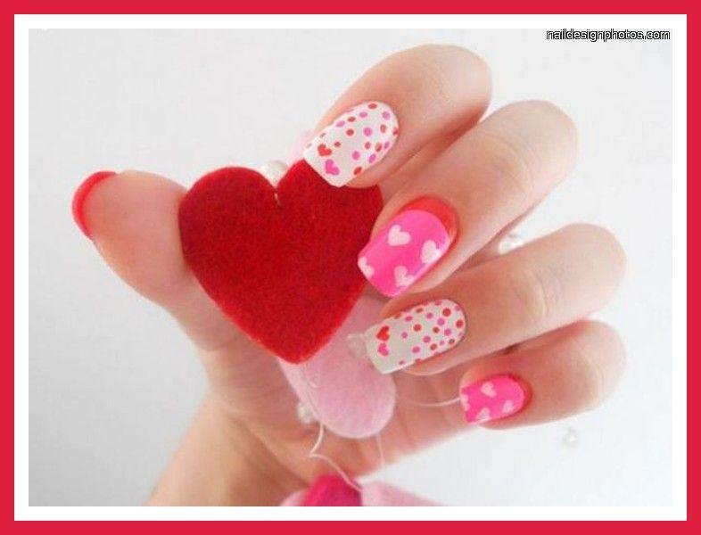 valentine's day nail ideas