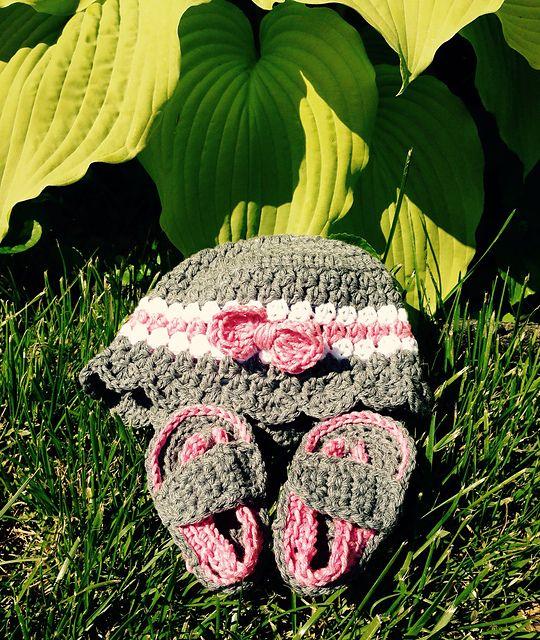 205d3eefd Ravelry  Project Gallery for Baby Strap Flip-Flops pattern by Bethany  Dearden