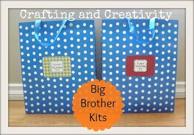 Crafting and Creativity: Big Brother Kits