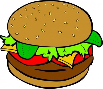 hamburger clip art projects to try pinterest hamburgers clip rh pinterest com au burger clipart black and white burger clipart png