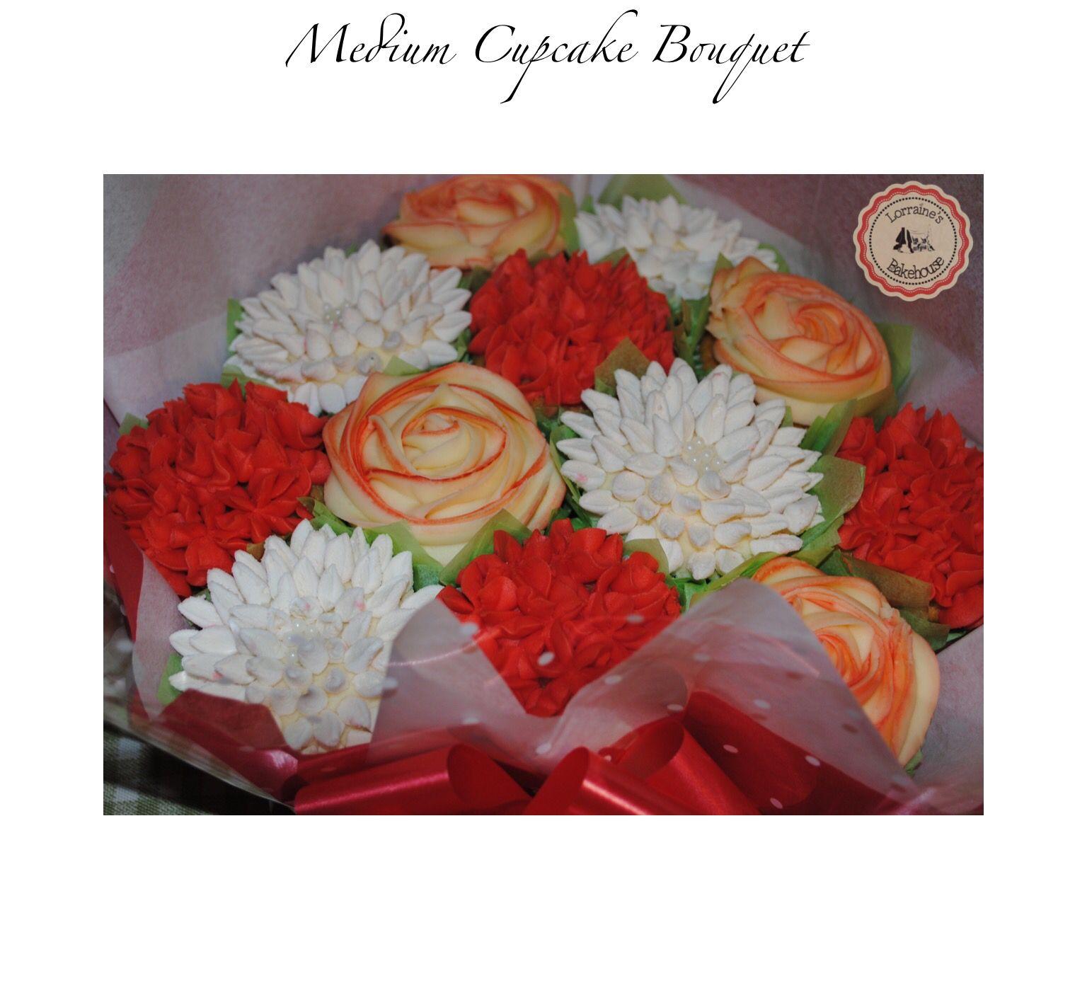 Cupcake Bouquet | Lorraine\'s Bakehouse | Pinterest | Cake designs ...