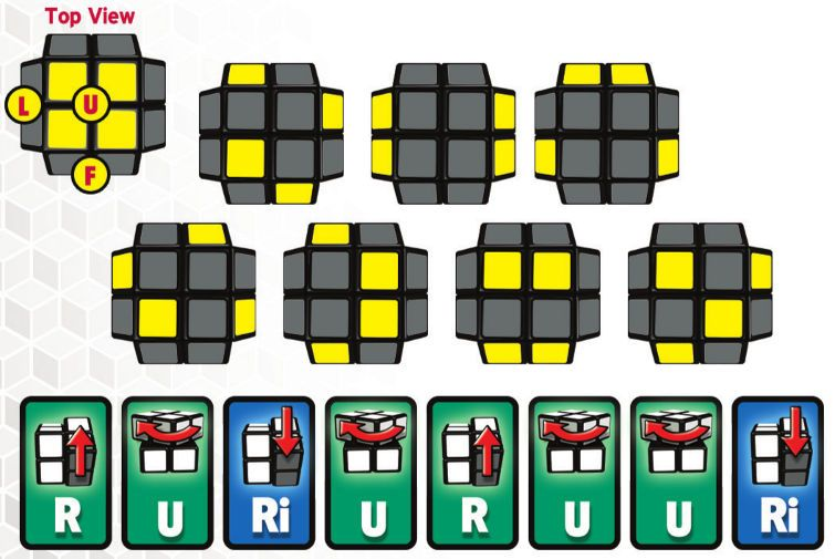 how to finish a rubix cube 2x2
