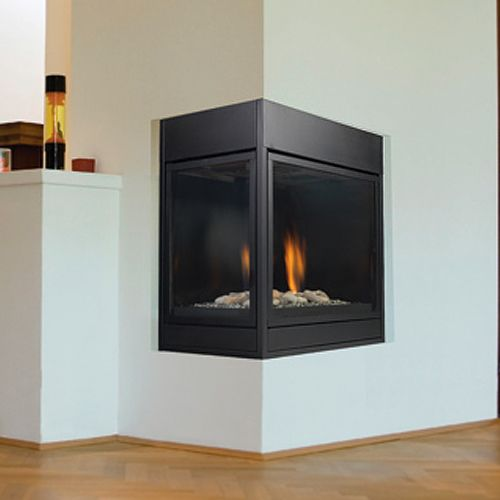corner-wood-burning-fireplace-inserts-124 | Cheminées | Pinterest ...