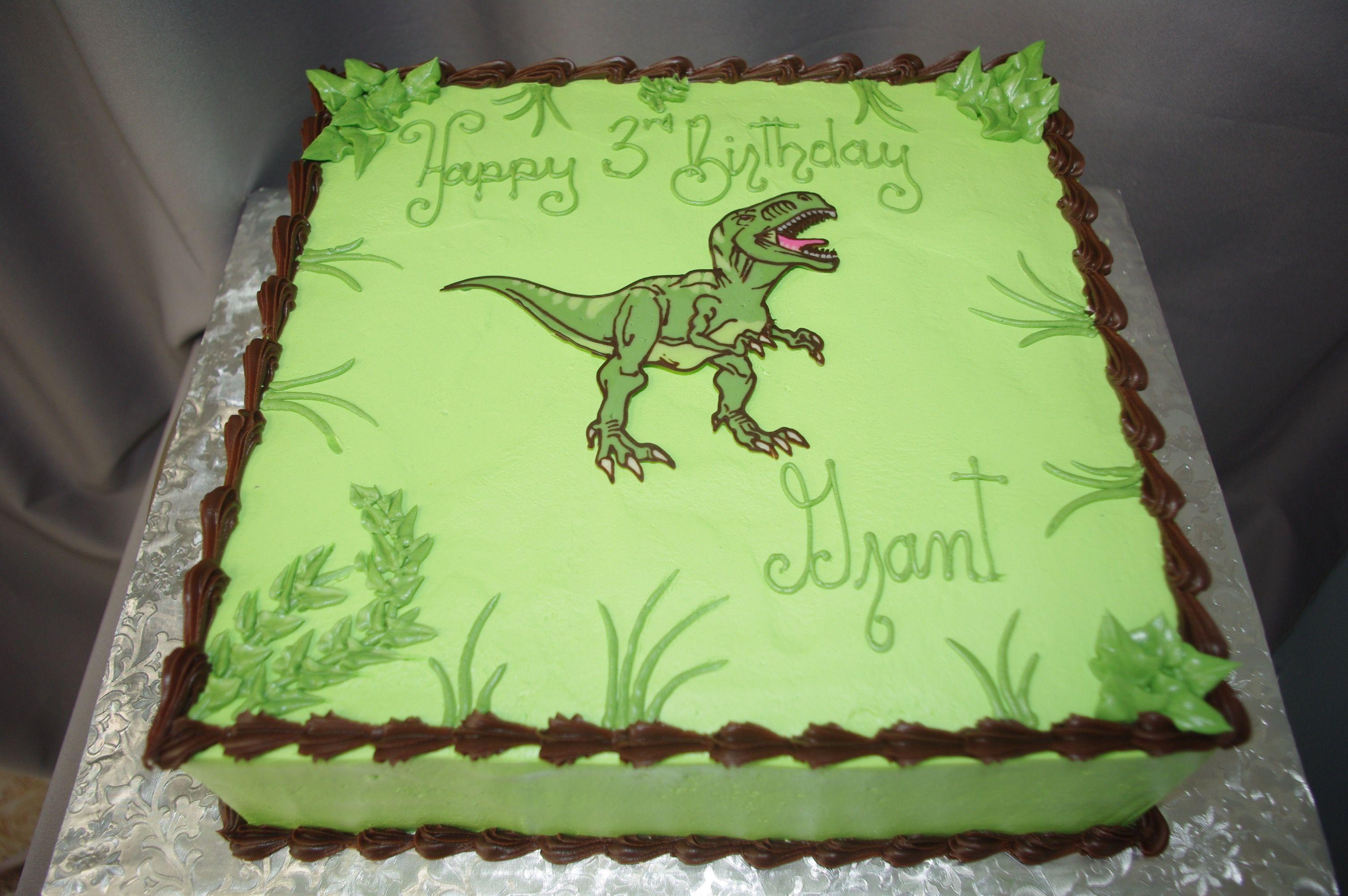 Children S Cakes With Images Dinosaur Birthday Cakes Dinosaur