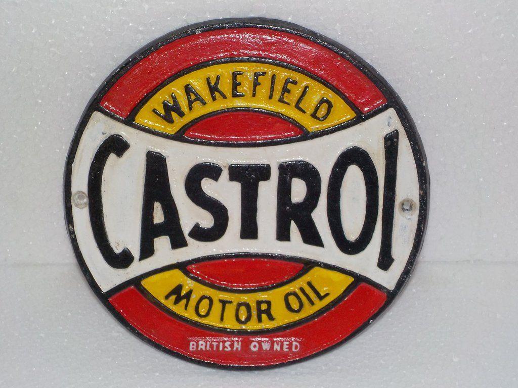 Cast Iron Pennzoil Plaque