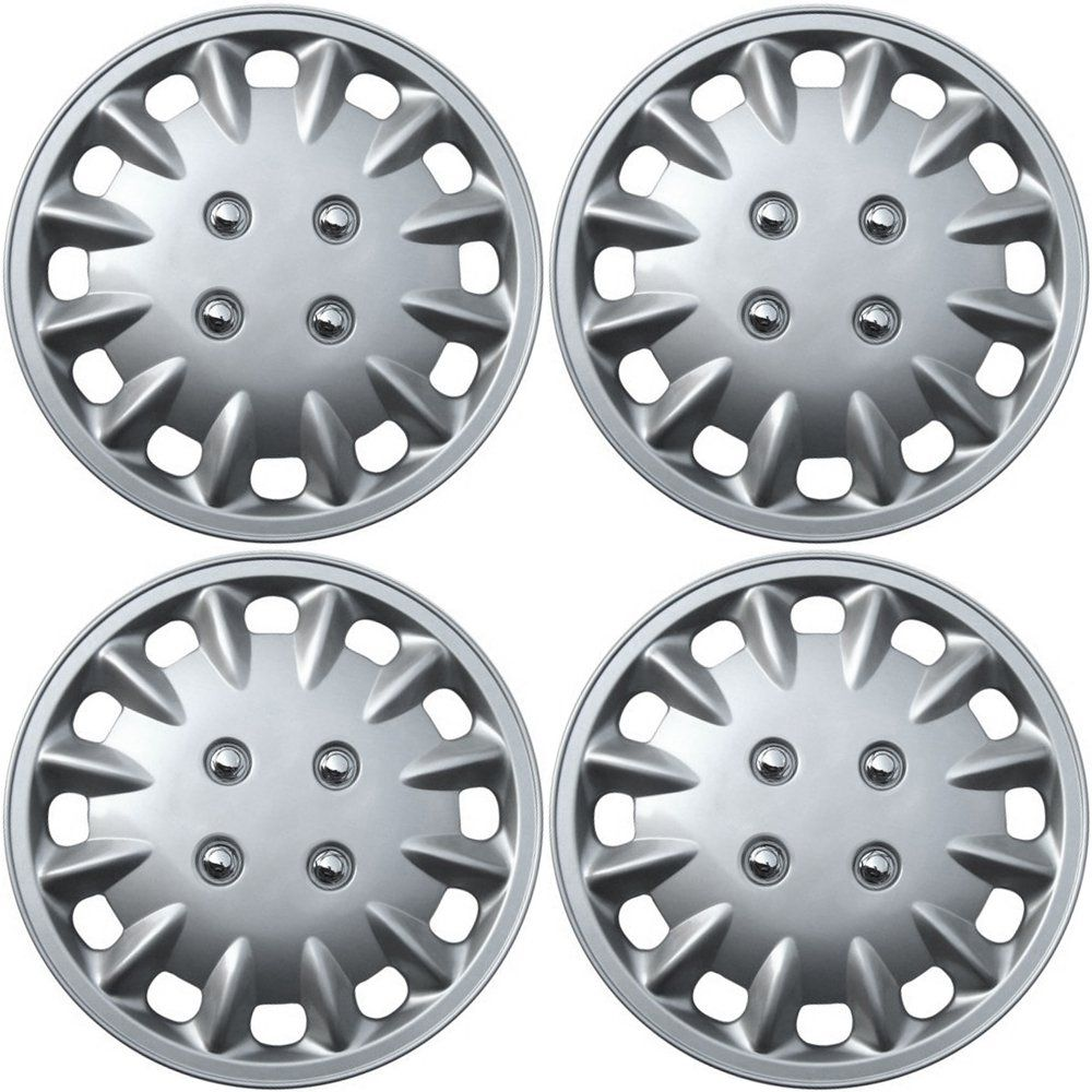 Oxgord Hubcaps For Nissan Sentra Pack Of 4 Wheel Covers 13 Inch Snap On Silver Want Additional Info Click On The Image Wheel Cover Hub Caps Nissan Sentra