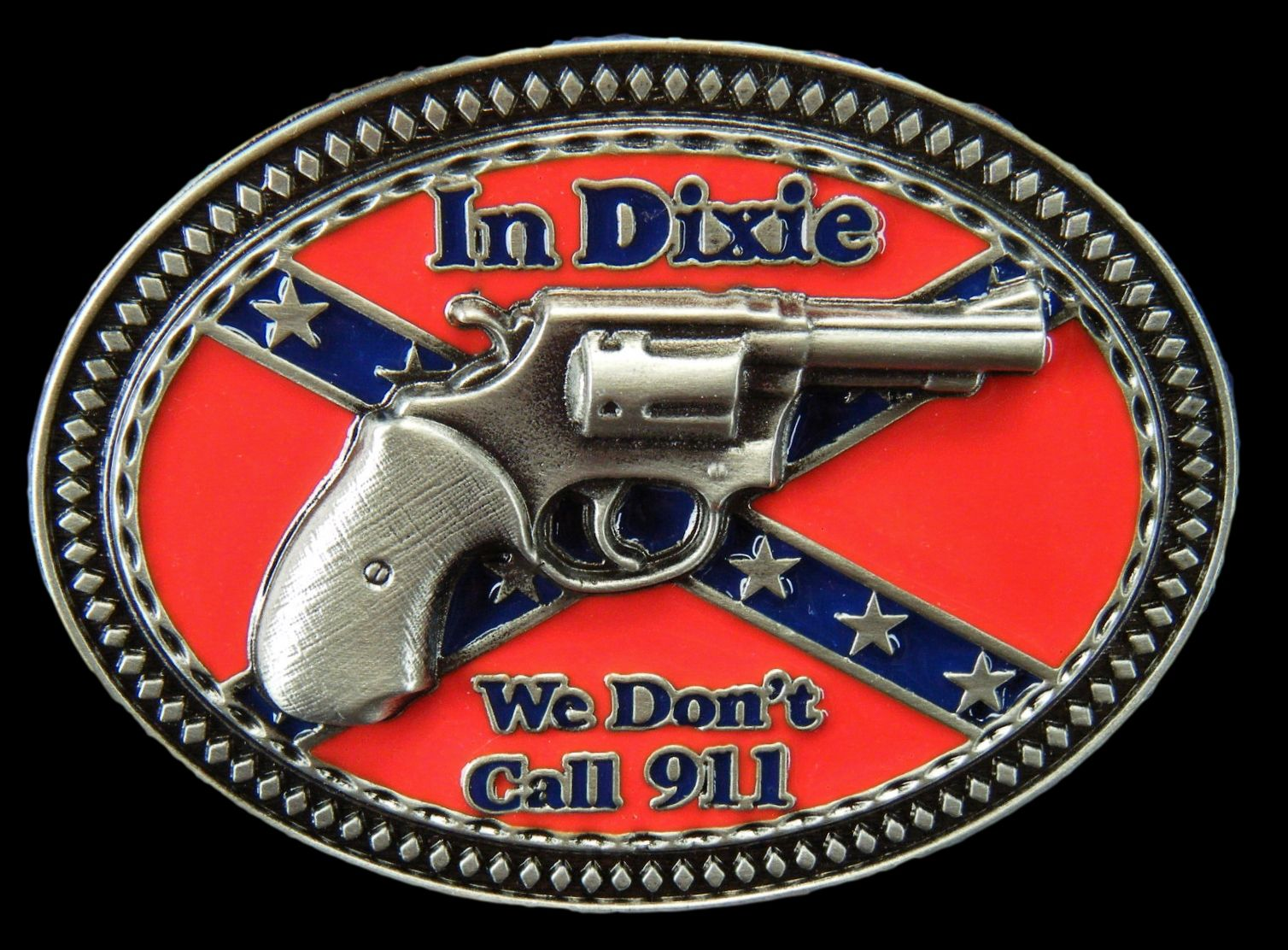 In dixie rebel confederate pride flag we don t dial 911 buckle belts buckles