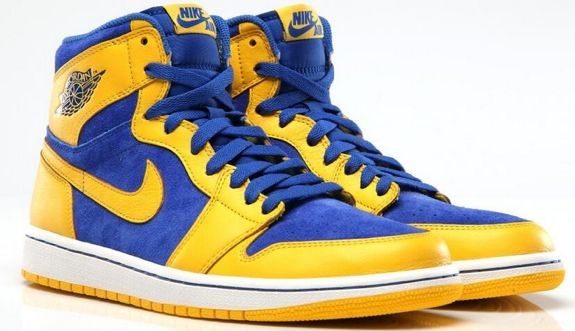 d26e3c94724a Air Jordan 1 Retro High OG  Laney  Colorway want these for UCLA days ...