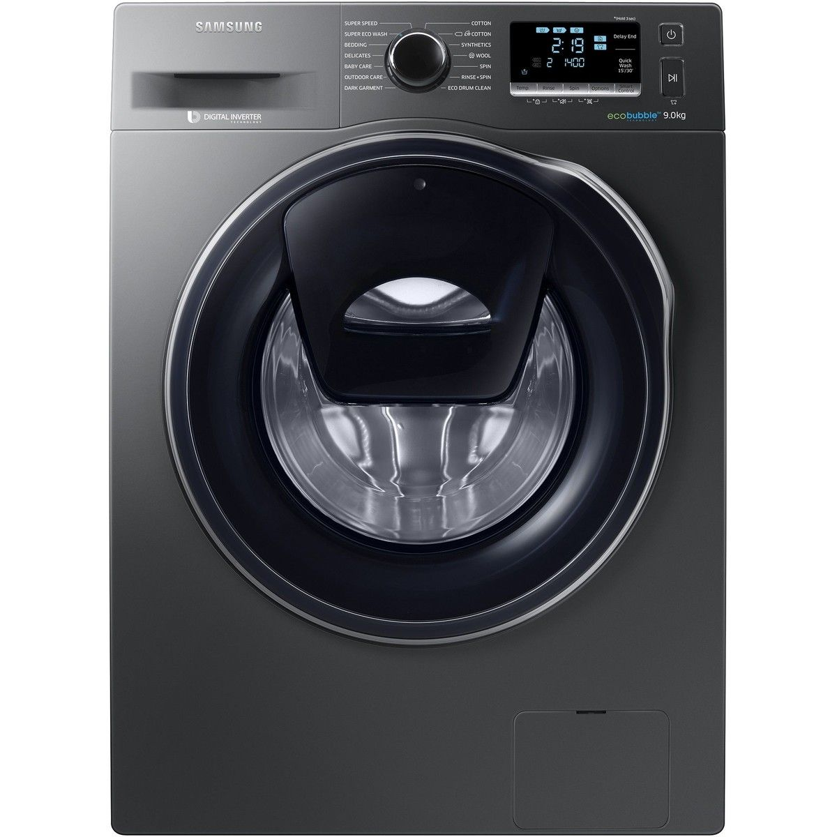 Masina De Spalat Rufe Samsung Ww90k6414qx 1400 Rpm 9 Kg Clasa A Negru Waschmaschine Samsung Wasche