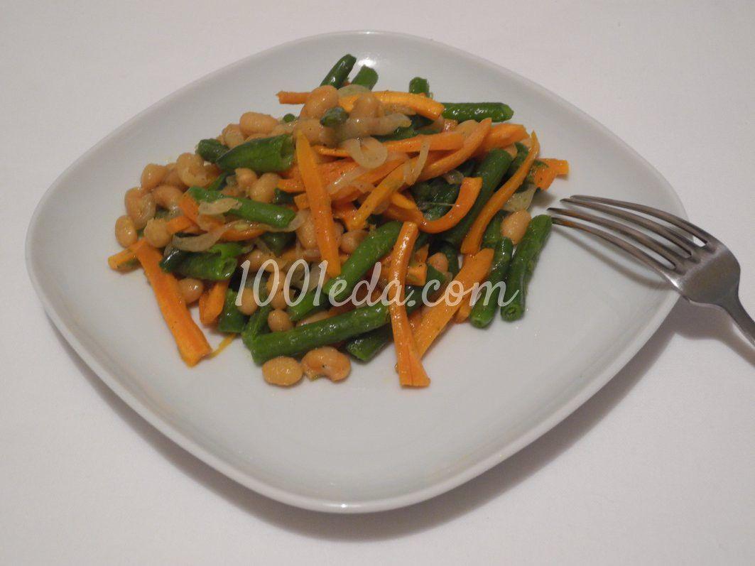 Салат со стручковой фасолью | Рецепт | Зеленая фасоль ...