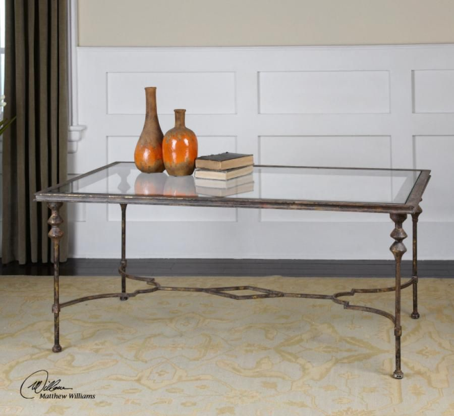 Delicieux UTTERMOST Quillon, Coffee Table  24364  Gray Glaze ALL TABLES FURNITURE $653.00