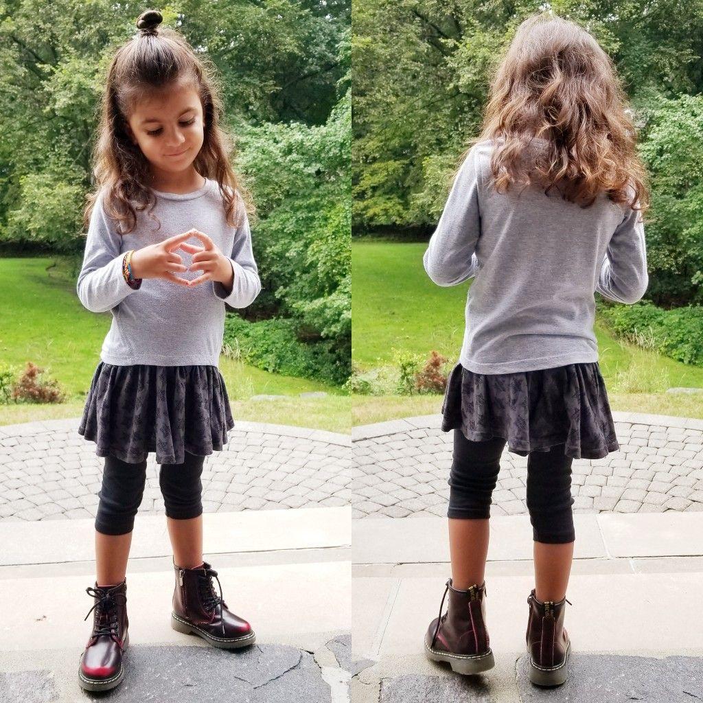 little girls combat boots