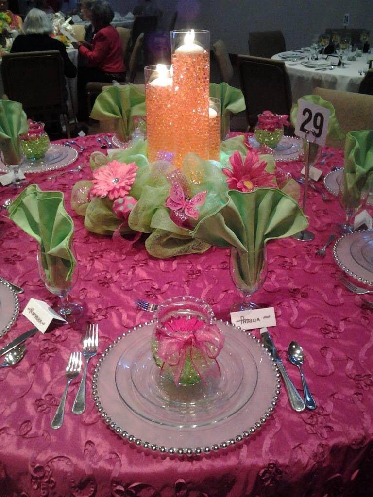 Ladies banquet 2014 Christmas tea party, Ladies