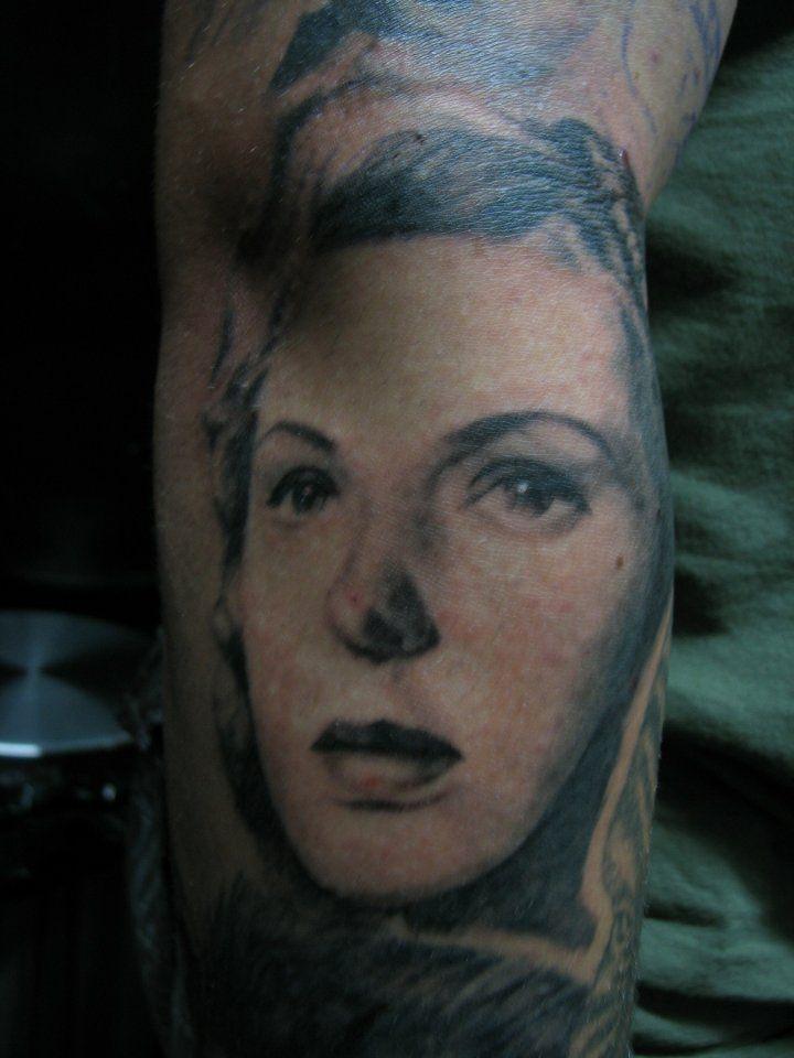 Bergman tattoo Ingrid Bergman | Tattoos of Famous People | Pinterest