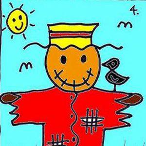 تعلم رسم فزاعة عصافير تعليم الرسم تعلم الرسم ببساطة Fictional Characters Art Character