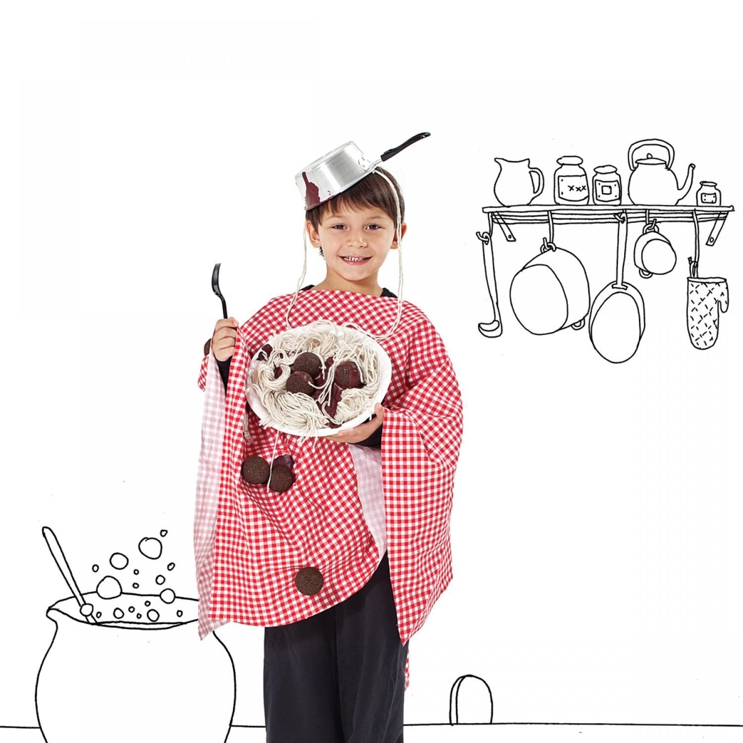 35 easy homemade halloween costumes for kids - Halloween Costume Ideas For Women Cheap And Easy