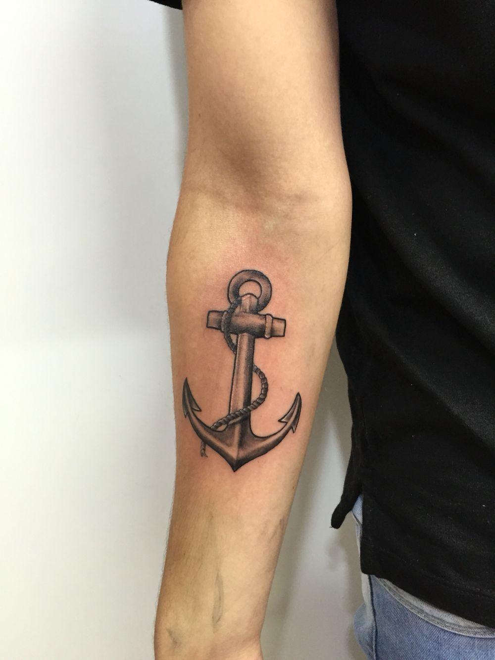 anchor tattoo tatuagens pinterest ancla tattoo anclas y tatuajes. Black Bedroom Furniture Sets. Home Design Ideas