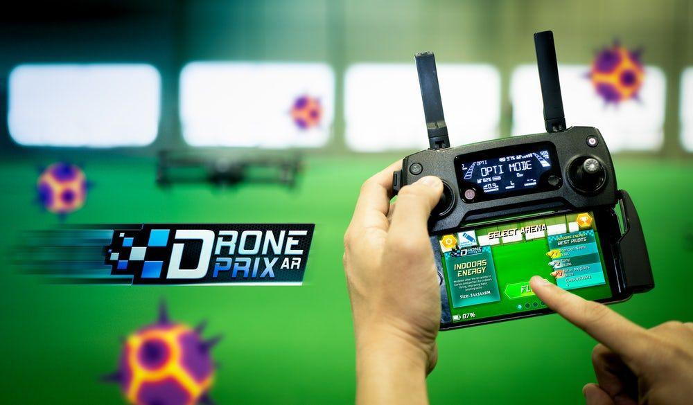 "DJI drone pilot could improve their skills thru ""DronePrix"