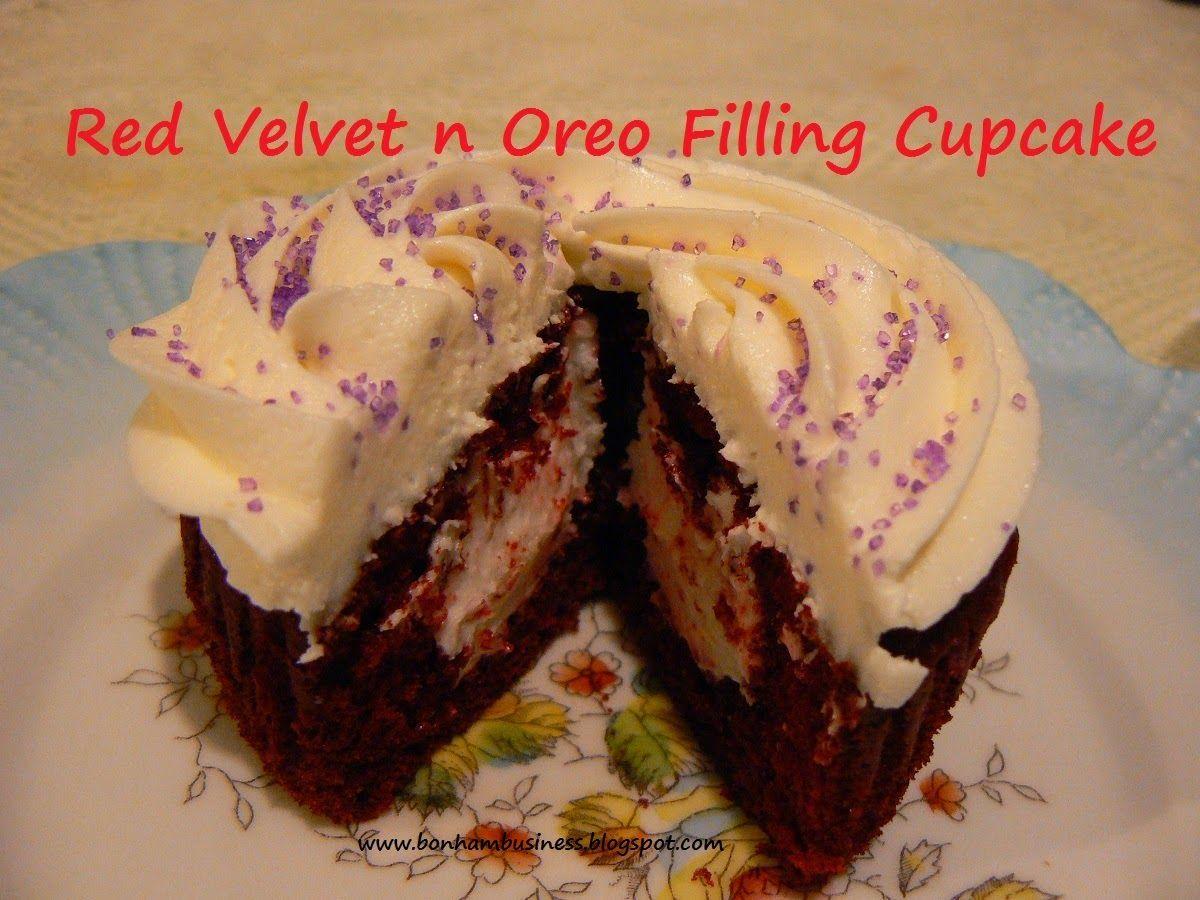 Red Velvet N Oreo Filling Cupcakes | Bonham Business