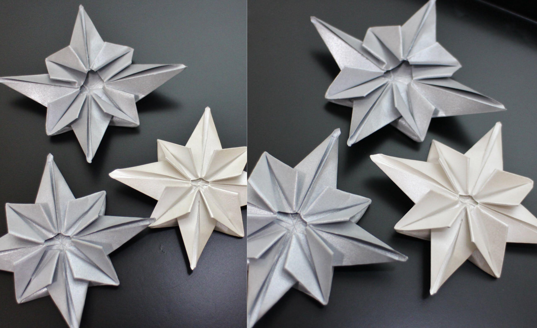 Origami Tutorial Estrela - Star