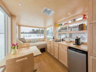 Escape vista remolque camping vivir de lujo en 15 metros for Cocina 15 metros cuadrados