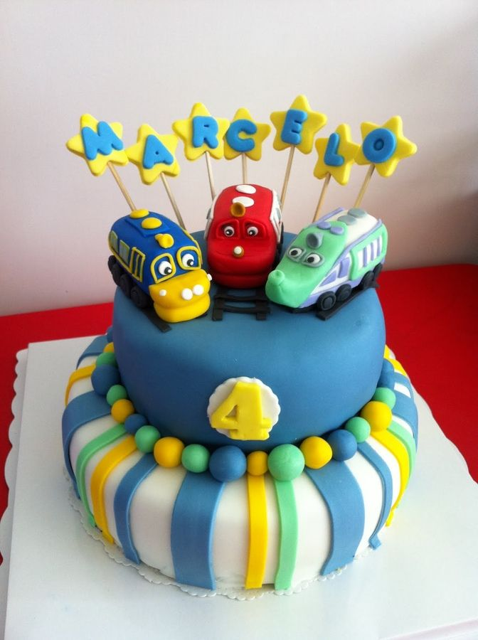 chuggington cakes for birthdays My first birthday cake for my 4