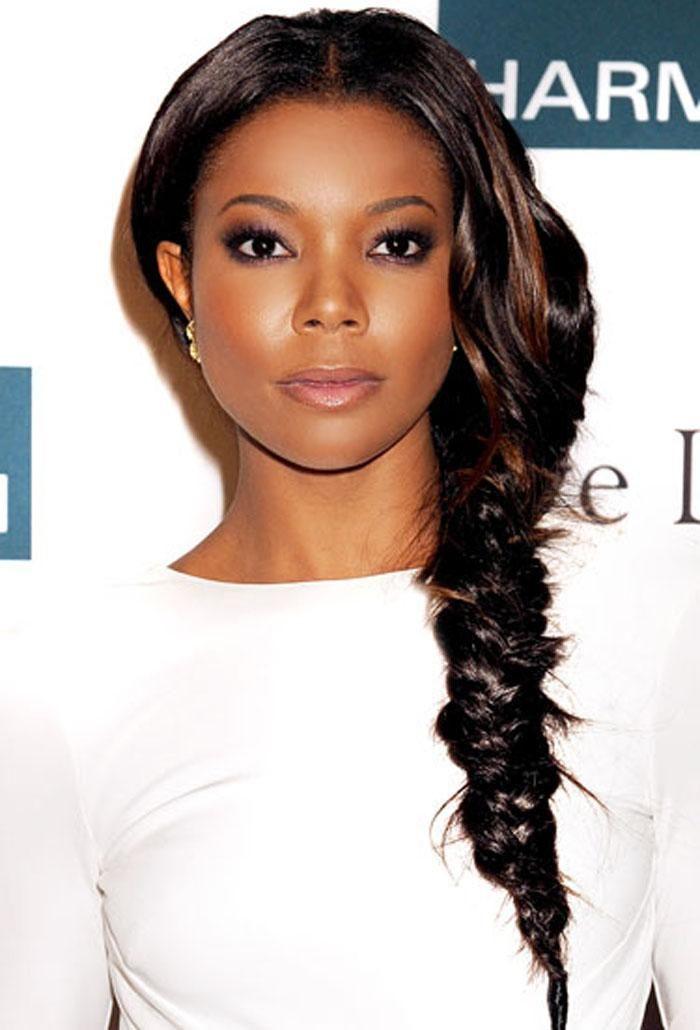 Fishtail Braid Hairstyles For Black Women Haircut Image