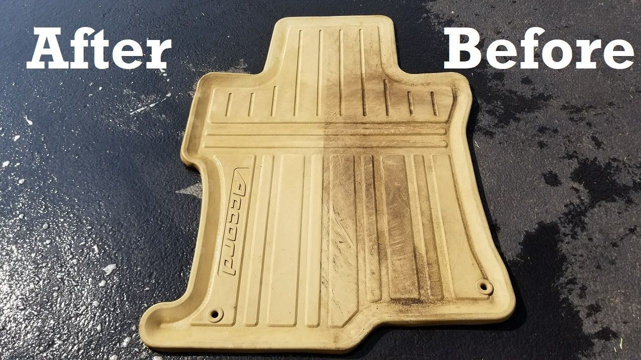 Best of how do you clean rubber car floor mats and