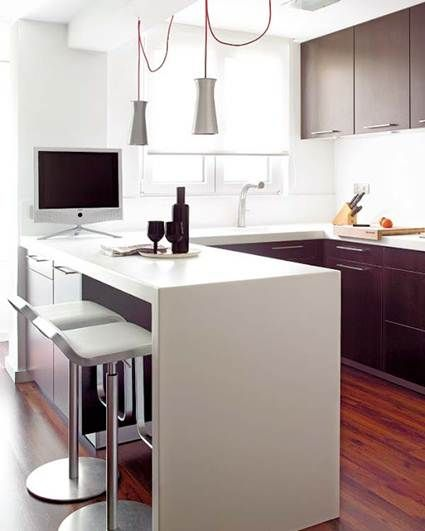 Beneficios de las barras americanas en la cocina - Barras americanas para cocinas ...
