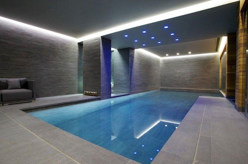 20 Striking Modern Indoor Pool Designs Indoor Pool Design Indoor Swimming Pool Design Modern Pools