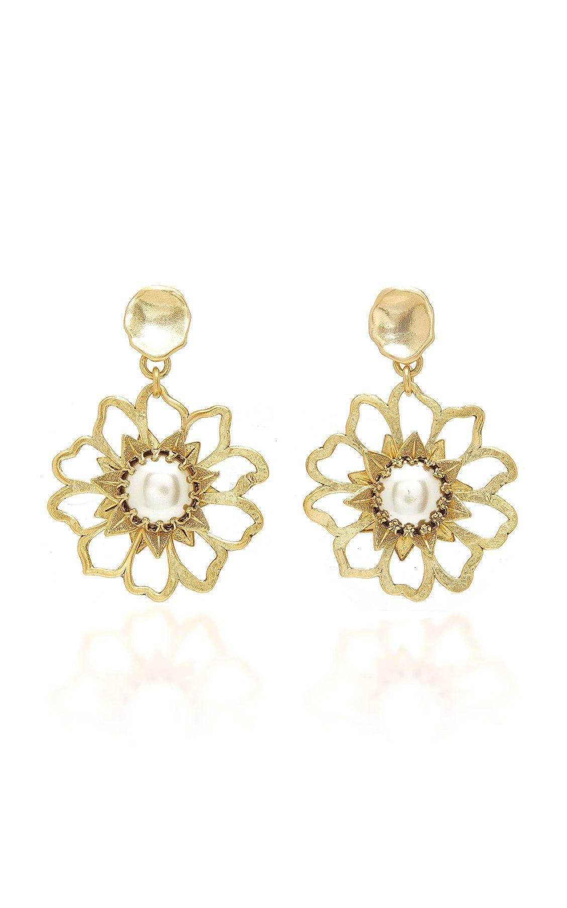Mini Flower Power Earrings By Brinker Eliza Ss19 Earrings Jewelry Stud Earrings