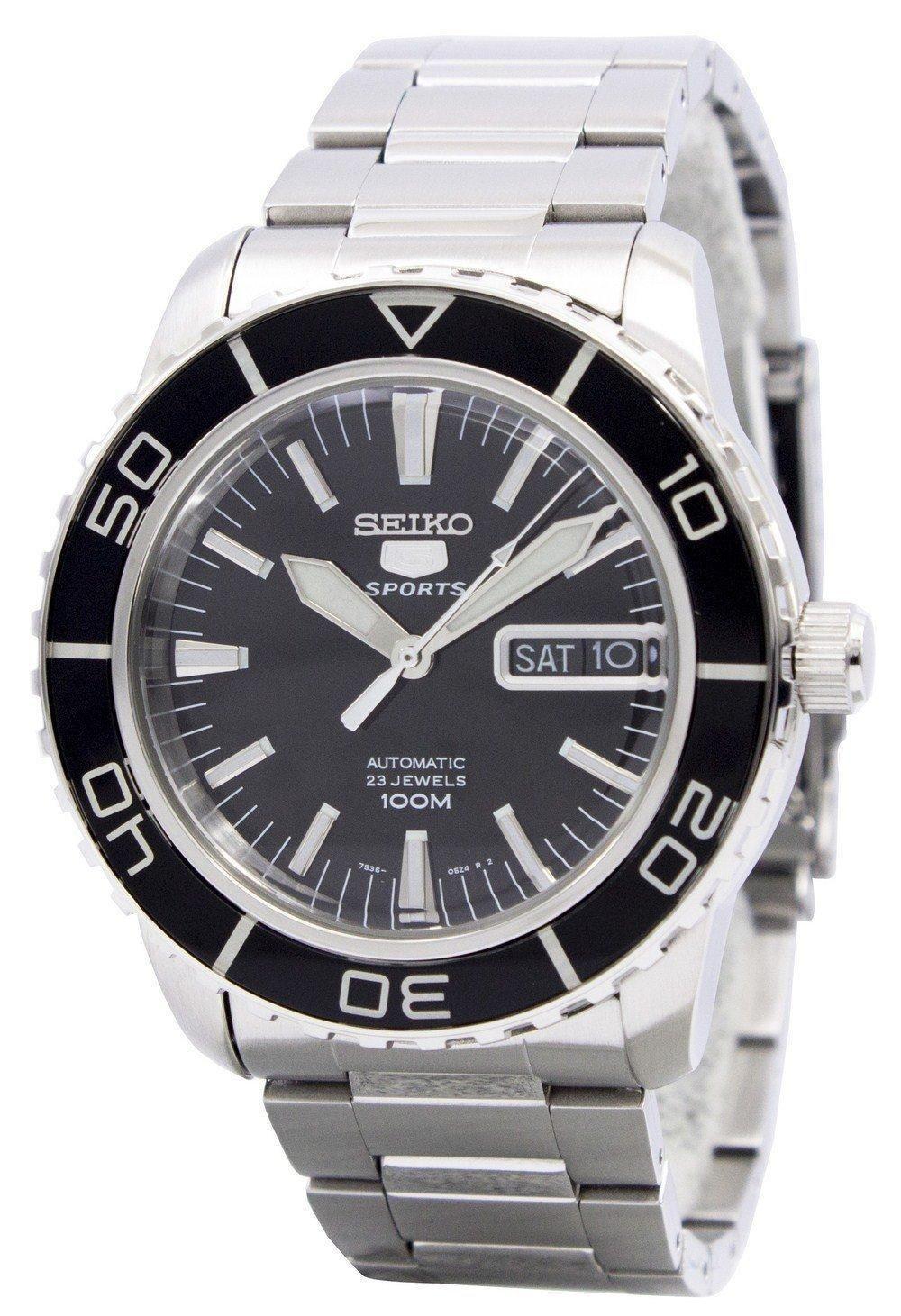 Seiko Automatic Sports SNZH55 SNZH55K1 SNZH55K Men's Watch