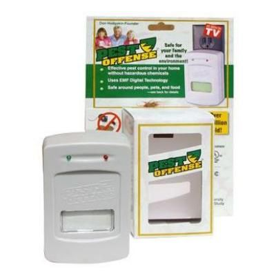 Pest Offense Electronic Indoor Pest Control Pobd I 01 At The Home Depot Pest Control Electronic Pest Control Flea Prevention