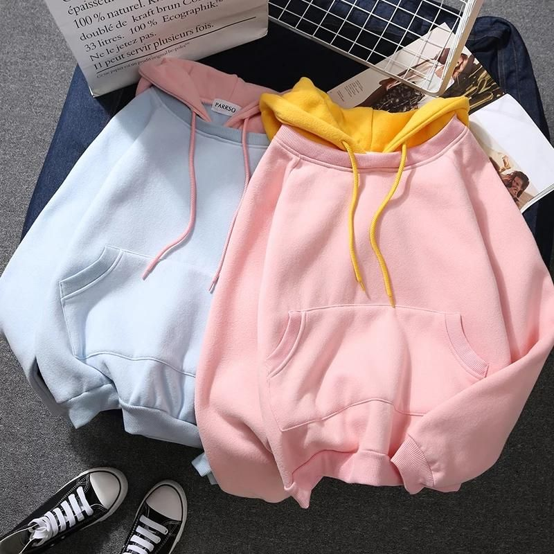 Harajuku Hoodie #N1991 ●Size: Length 58cm,chest 98cm        ●Material:Cotton ●Color:Pink,Blue,White ●Process time: 2-3 business days●Shipping time: 10-15 business days to United States, 3-4 weeks to other country.●Exchange and Return: Normally, if we ship wrong or bad items, you can exchange or return freely.