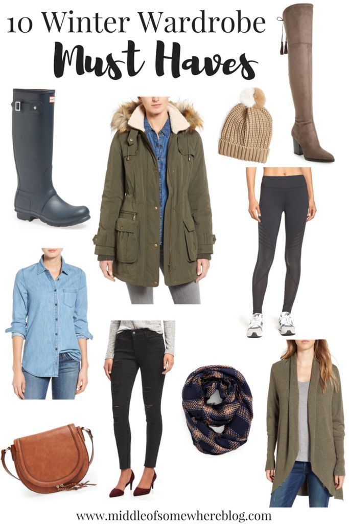 9d3dc4d2b75 10 Winter Wardrobe Must Haves for Every Woman