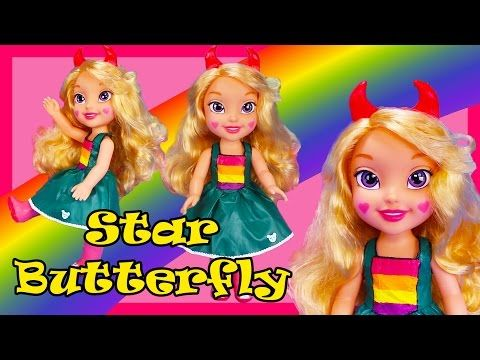 STAR BUTTERFLY SHOPKINS POPETTE SHOPPIE HOW TO MAKE CUSTOM TOY DOLL VS THE FORCES OF EVIL