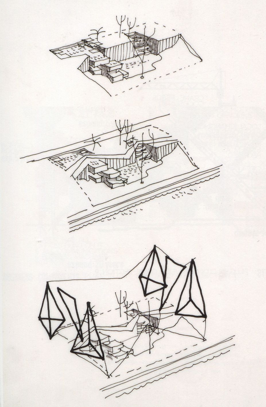 London Zoo Aviary 1960-1963 Bird´s eye axonometric   Building Bird ...