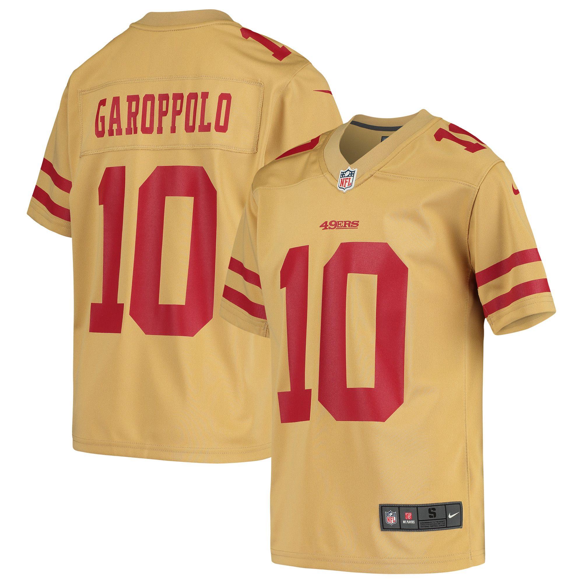 Jimmy Garoppolo San Francisco 49ers Nike Youth Inverted Game ...