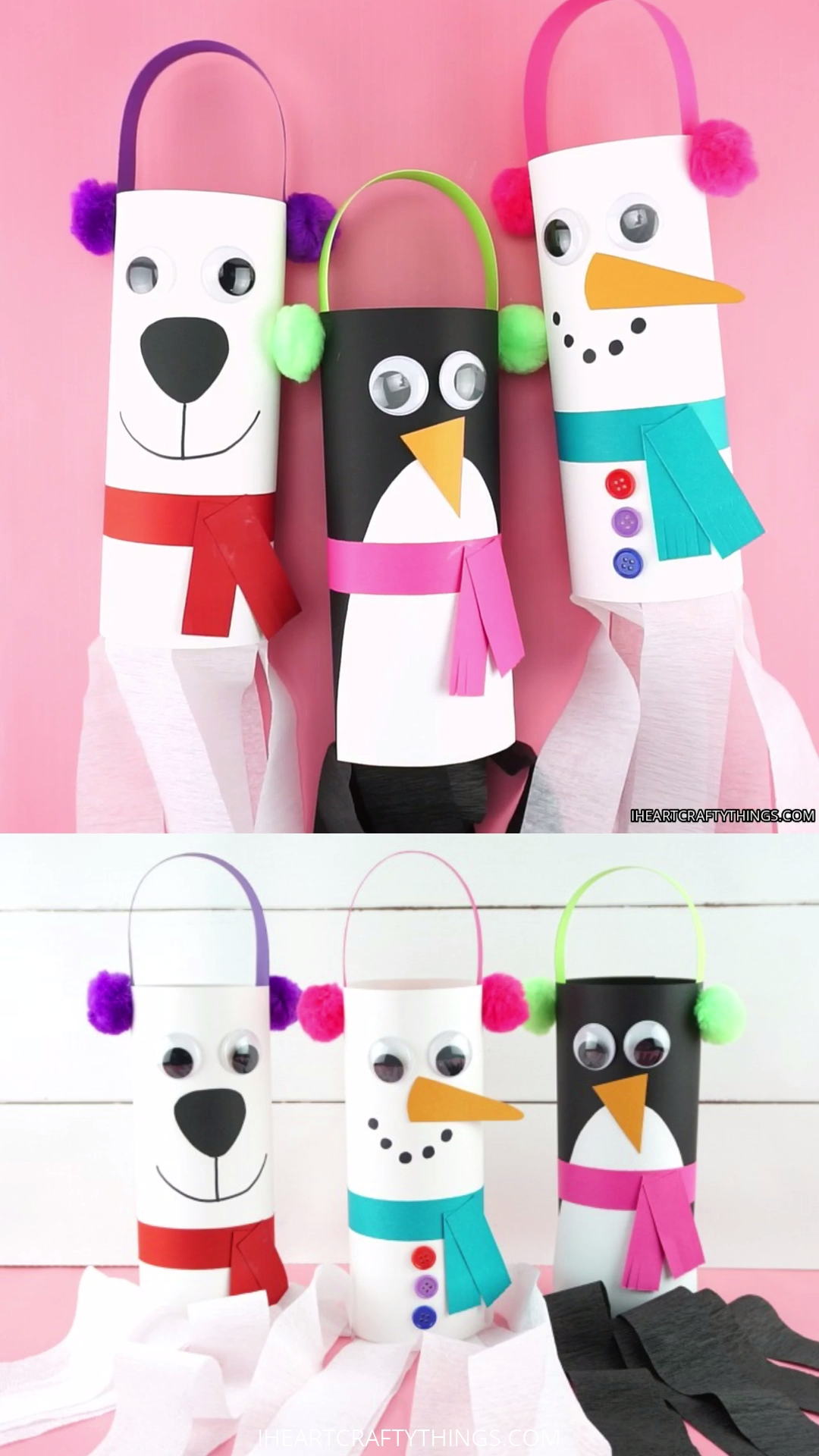 Fun And Easy Winter Windsocks Crafts For Kids To Make Use
