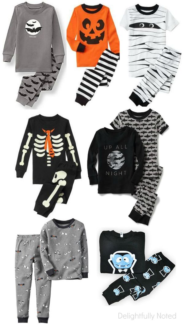 8f1ef9a83 14 cute and spooktacular Halloween pajamas for kids! I wish these cozy pjs  came in my size.