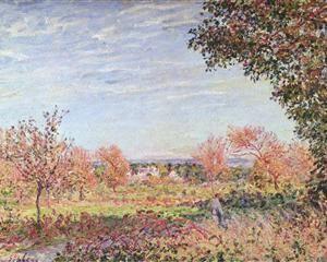 September Morning - Alfred Sisley
