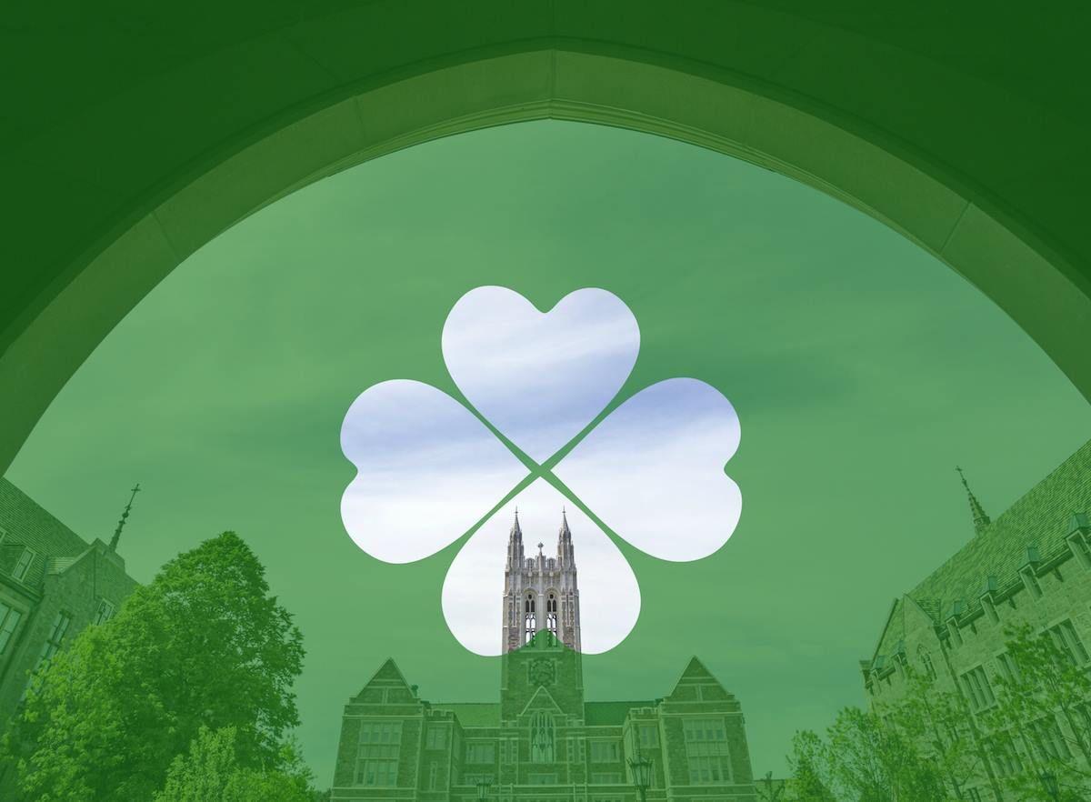 Happy St. Patrick's Day! Photo illustration Boston