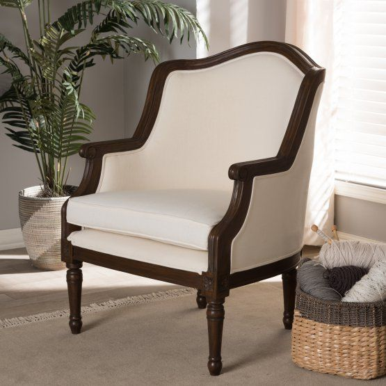 Marvelous Baxton Studio Charlemagne Traditional French Accent Chair Pabps2019 Chair Design Images Pabps2019Com