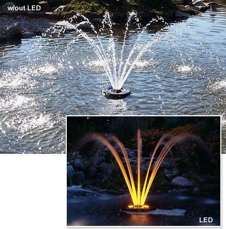 Aerating Fountains 2 HP C 85 J Series Decorative Fountain (mfg#8400