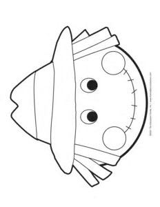 Image Result For Scarecrow Face Template Printable Free Pattern