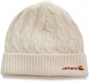 6390b496dbd Carhartt Women s Cable Knit Hat  Qoo10Womensraincoat